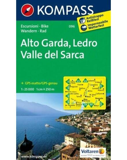 Cartographia  - Alto Garda Val di Ledro turistatérkép