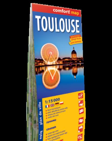 Cartographia  - Toulouse Comfort várostérkép