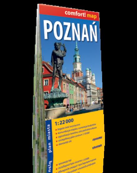 Cartographia  - Poznan Comfort várostérkép
