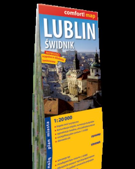 Cartographia  - Lublin, Swidnik Comfort várostérkép