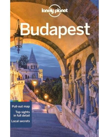 Cartographia  - Budapest útikönyv (angol) Lonely Planet