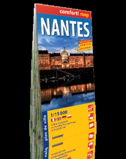 Cartographia  - Nantes Comfort várostérkép