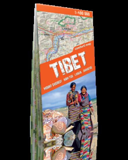 Cartographia  - Tibet turistatérkép