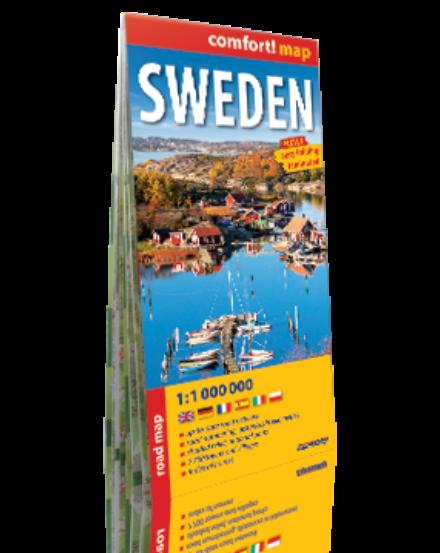 Cartographia  - Svédország Comfort térkép