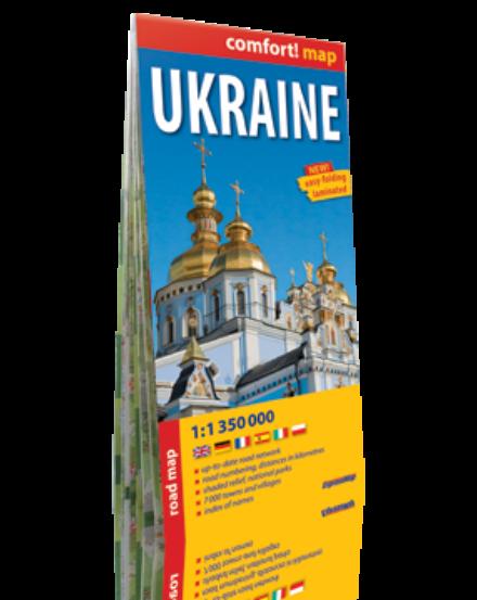 Cartographia  - Ukrajna Comfort térkép