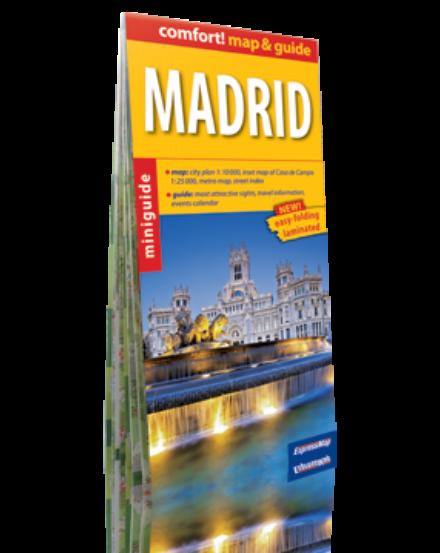 Cartographia  - Madrid (map&guide) laminált térkép