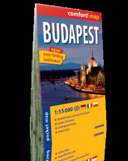 Cartographia  - Budapest laminált zsebtérkép