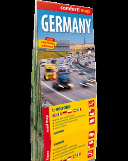 Cartographia  - Németország térkép