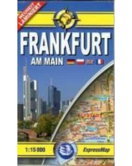 Cartographia  - Frankfurt am Main zsebtérkép