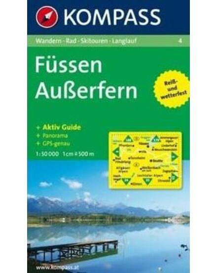 Cartographia  - Füssen - Ausserfern turistatérkép