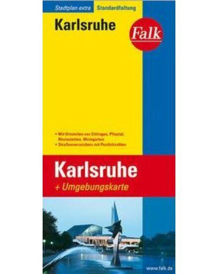 Cartographia  - Karlsruhe várostérkép