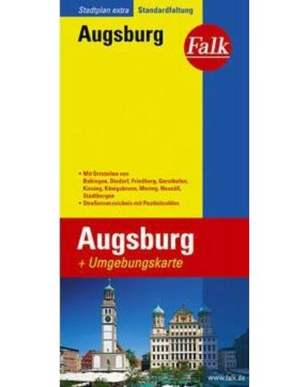 Cartographia  - Augsburg várostérkép