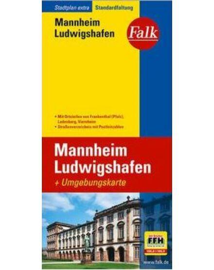 Cartographia  - Mannheim/Ludwigsahfen várostérkép