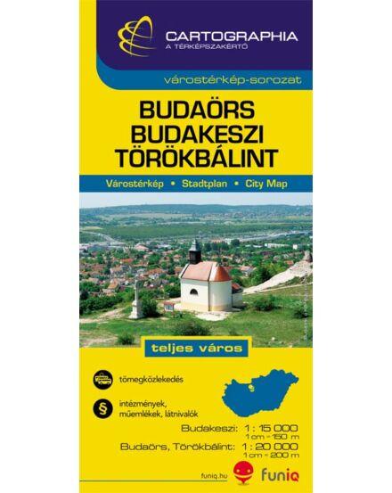Cartographia  - Budaörs várostérkép