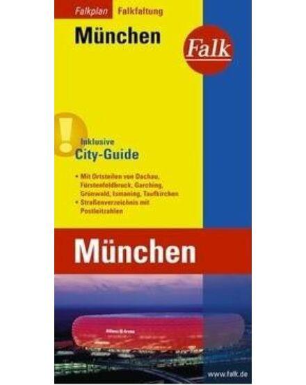 Cartographia  - München várostérkép (Falkfaltung) Falk
