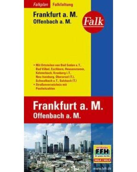 Cartographia  - Frankfurt am Main/Offenbach térkép
