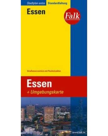Cartographia  - Essen várostérkép (Extra)