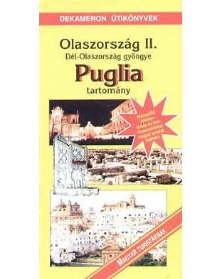 Cartographia  - Dél-Olaszország, Puglia tartomány útikönyv