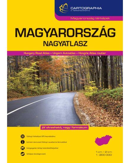 Cartographia  - Magyarország nagyatlasz