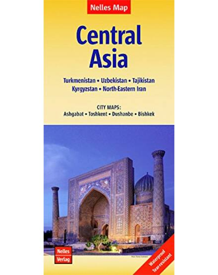 Cartographia  - Közép-Ázsia térkép