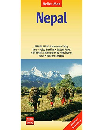 Cartographia  - Nepál térkép