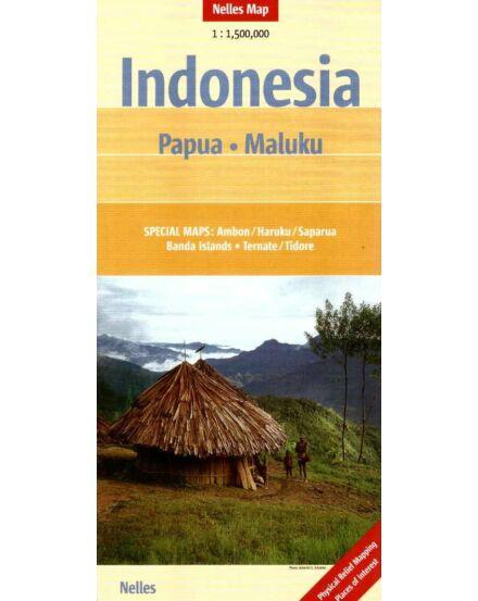 Cartographia  - Indonézia - Pápua, Maluku térkép