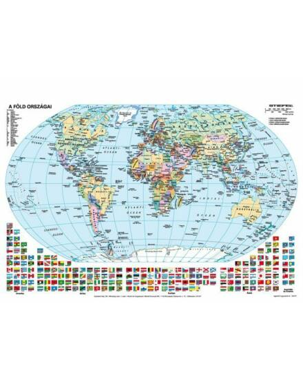 Cartographia  - Föld domborzata, politikai munkalap