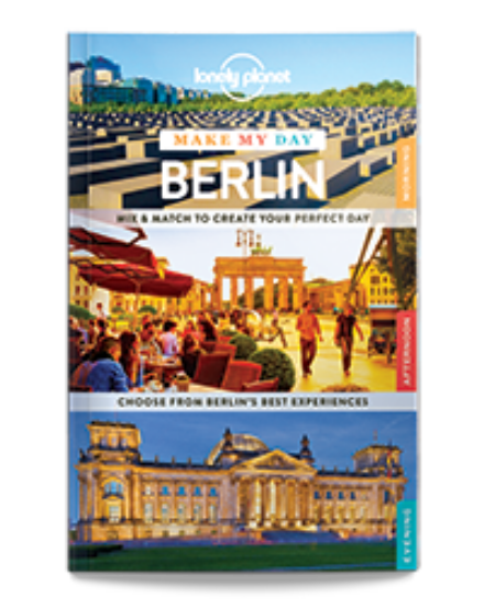 Cartographia  - Berlin Make My Day útikönyv (angol) Lonely Planet