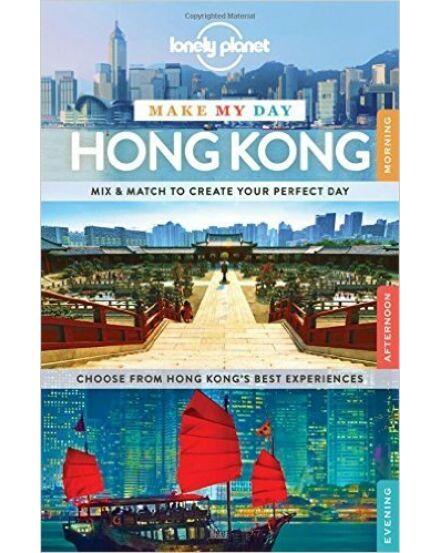 Cartographia  - Hong Kong Make My Day útikönyv Lonely Planet