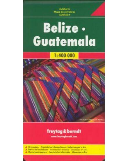 Cartographia  - Belize-Guatemala térkép