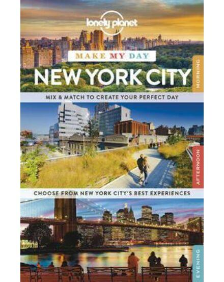 Cartographia  - New York City Make My Day útikönyv Lonely Planet