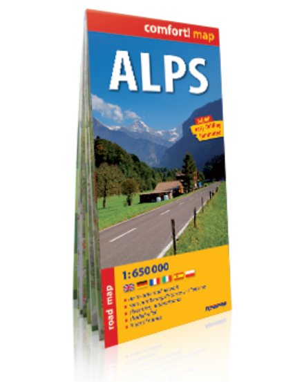 Cartographia  - Alpok térkép