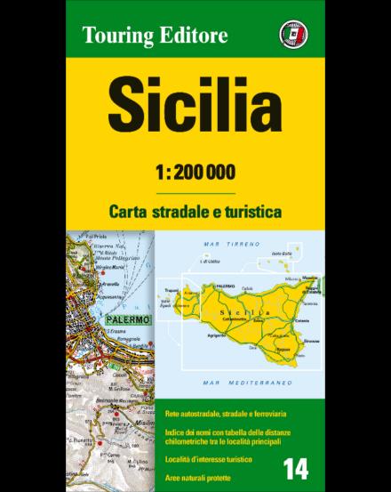 Cartographia  - Szicília régiótérkép