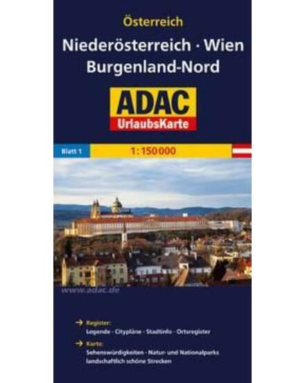 Cartographia  - Alsó-Ausztria, Bécs, Észak-Burgenland