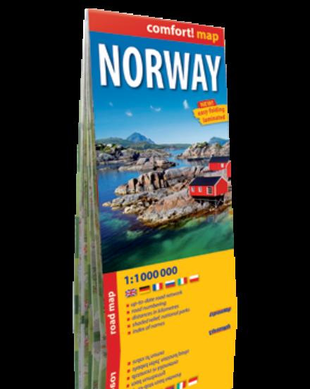 Cartographia  - Norvégia Comfort térkép