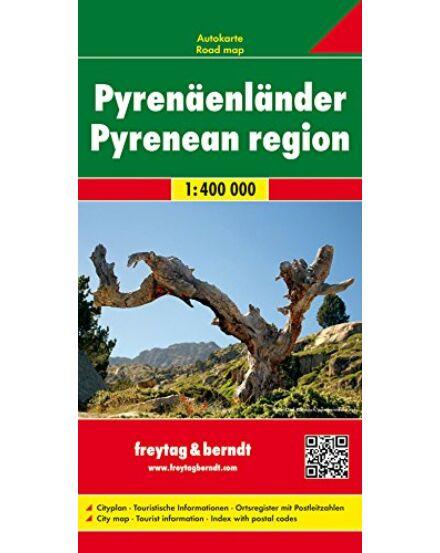 Cartographia  - Pireneusok országai térkép