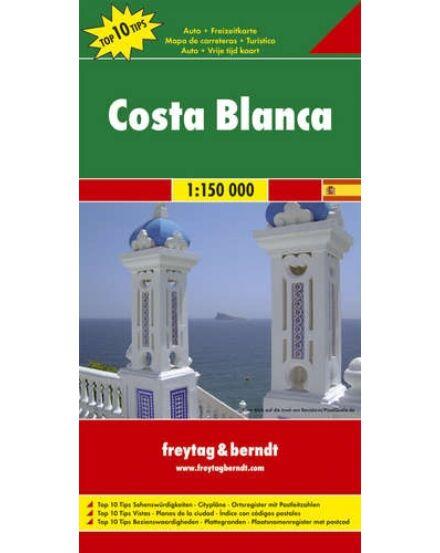 Cartographia  - Costa Blanca térkép