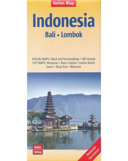 Indonézia: Bali, Lombok térkép