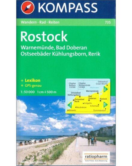 Cartographia  - Rostock - Warnemünde - Bad Doberan turistatérkép