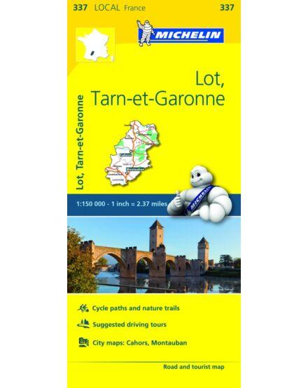 Cartographia  - Lot , Tarn-et-Garonne résztérkép