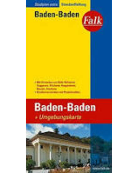 Cartographia  - Baden-Baden várostérkép
