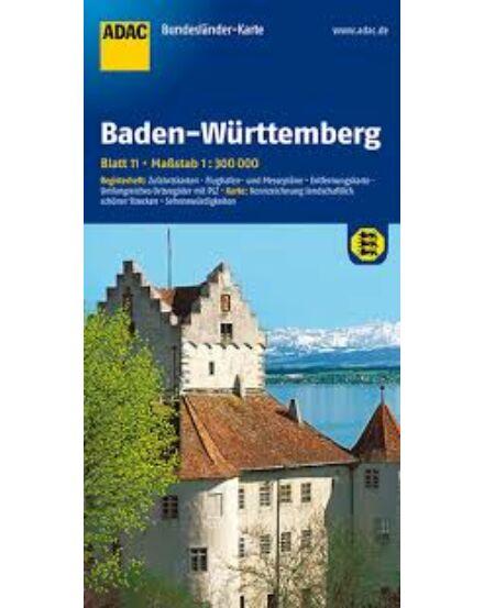 Cartographia  - Németország résztkp. 11. - Baden-Württemberg