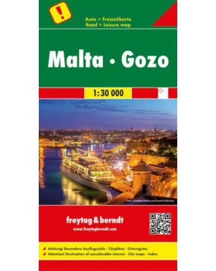 Cartographia  - Málta, Gozo térkép