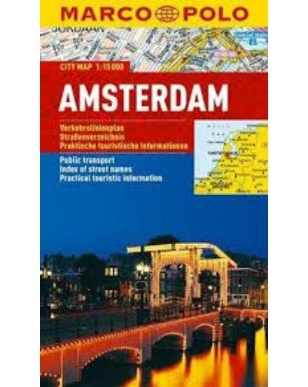 Cartographia  - Amszterdam várostérkép (Marco Polo)