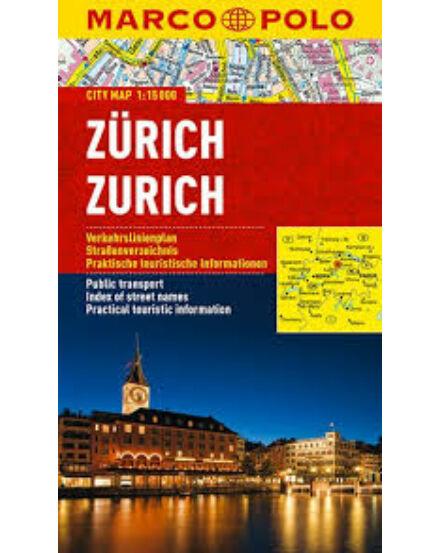 Cartographia  - Zürich várostérkép