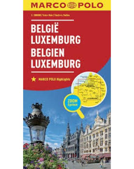 Cartographia  - Belgium , Luxemburg térkép