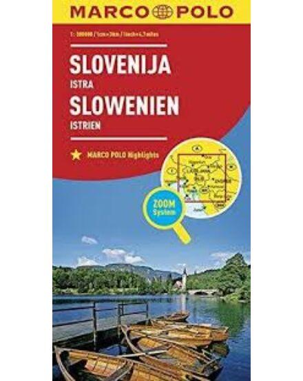 Cartographia  - Szlovénia, Isztria térkép