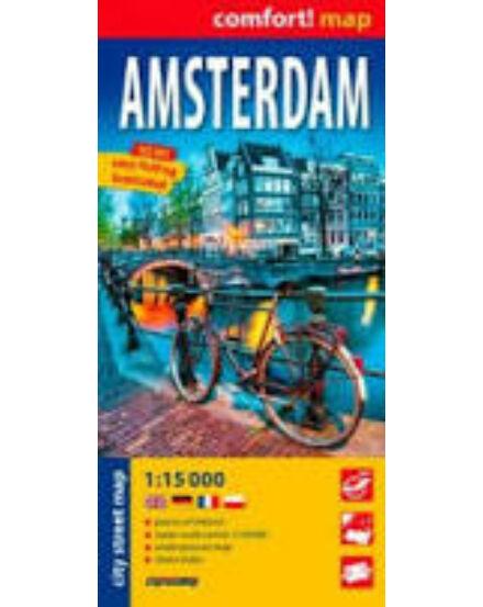Cartographia  - Amszterdam Comfort térkép
