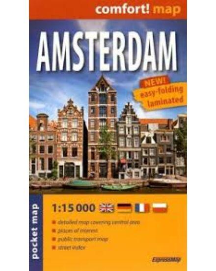 Cartographia  - Amszterdam Comfort zsebtérkép