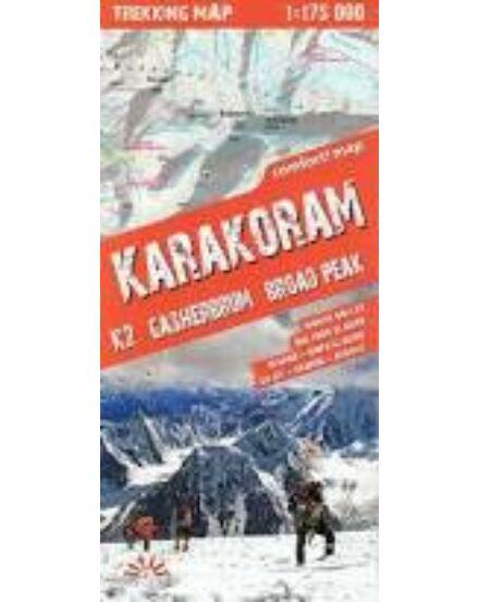 Cartographia  - Karakorum trekking térkép